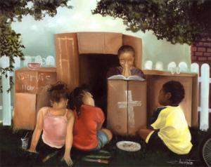 Let's Play Church by Edwin Lester