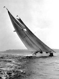 Auxiliary Schooner Mary Rose by Edwin Levick