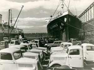 Ford Trucks Awaiting Shipment, Mid-1920S by Edwin Levick