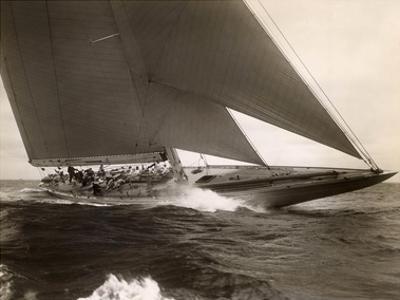 J Class Sailboat, 1934