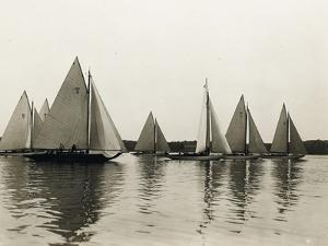 New York 30 Foot Class, 1905 by Edwin Levick
