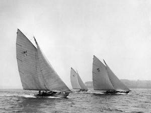New York Yacht Club, Alera 1905 by Edwin Levick