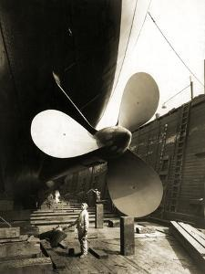 Propeller from Steam Yacht Nourmahal, 1928 by Edwin Levick