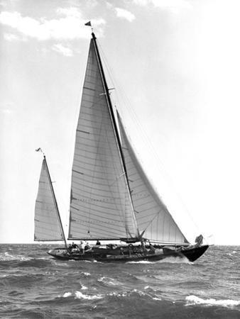 Sailboat by Edwin Levick