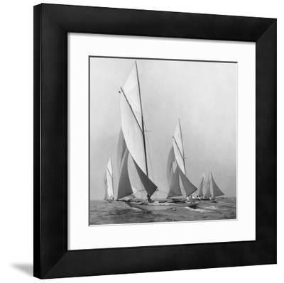 Sailboats Sailing Downwind, 1920