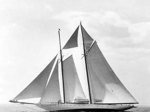 Schooner Katoura by Edwin Levick