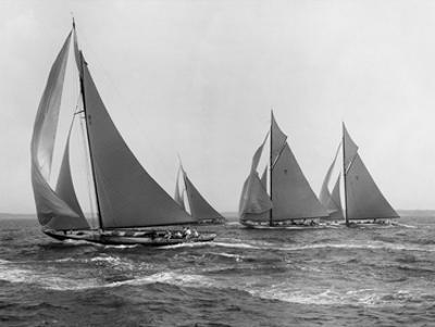 Sloops at Sail, 1915