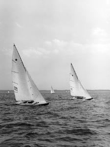 Southern Cross Racing in First Annual National Championship Series of the Star Class Boats by Edwin Levick