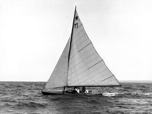 Star Class Boat Fejo #77 by Edwin Levick
