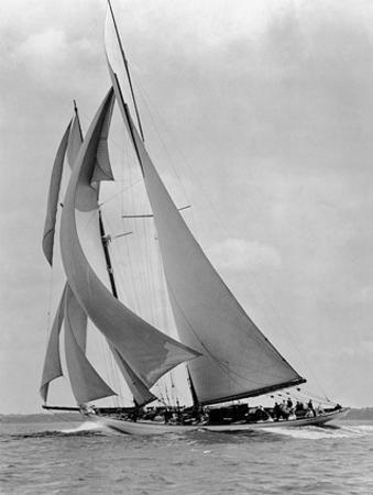 The Schooner Half Moon at Sail, 1910s