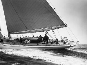Yankee Cruising on East Coast, 1936 by Edwin Levick