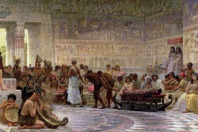 An Egyptian Feast, 1877