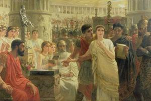 Diana or Christ?, 1881 by Edwin Longsden Long