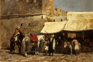 Tangiers, 1878 by Edwin Lord Weeks