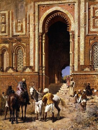 The Gateway of Alah-Ou-Din, Old Delhi, Late 19th Century