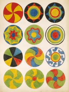 Decorations - Circles by Edwin Tappan Adney