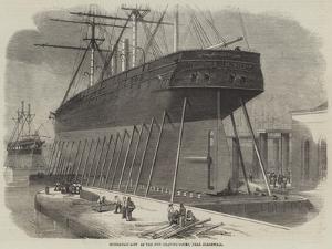 Hydraulic Lift at the New Graving-Docks, Near Blackwall by Edwin Weedon
