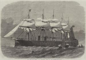 Our Iron-Clad Fleet, HMS Minotaur, Built on the Thames by Edwin Weedon