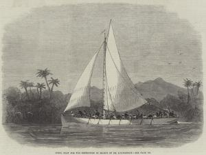 Steel Boat for the Expedition in Search of Dr Livingstone by Edwin Weedon