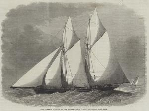 The Cambria, Winner of the International Yacht Race by Edwin Weedon