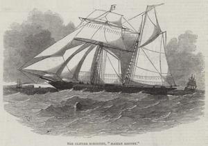 The Clipper Schooner, Marin Zagury by Edwin Weedon