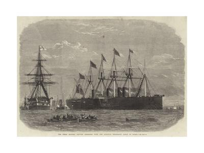 The Great Eastern Leaving Sheerness with the Atlantic Telegraph Cable on Board