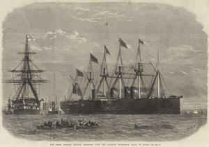 The Great Eastern Leaving Sheerness with the Atlantic Telegraph Cable on Board by Edwin Weedon