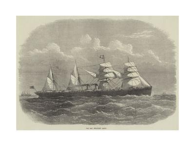 The New Steam-Ship Egypt