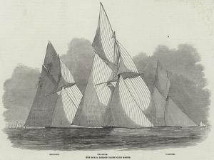The Royal London Yacht Club Match by Edwin Weedon
