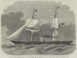 The Twin Screw-Steamer Ruahini, One of the Panama Line of Australian and New Zealand Mail-Packets by Edwin Weedon
