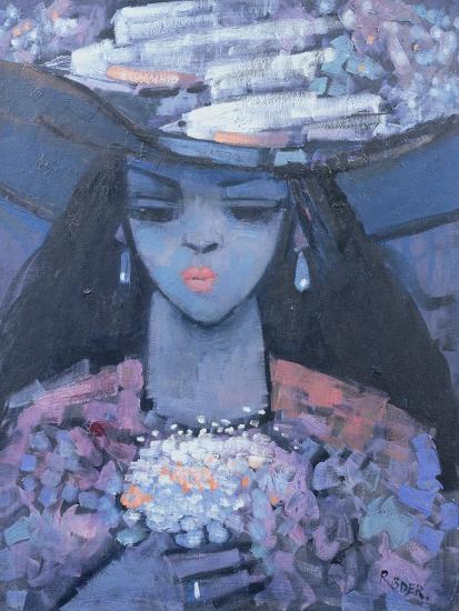 Edwina's Hat, 1991-Endre Roder-Giclee Print