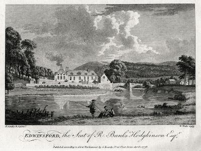 Edwinsford, the Seat of R Banks Hodgkinson Esq, Carmarthenshire, 1776-William Watts-Giclee Print