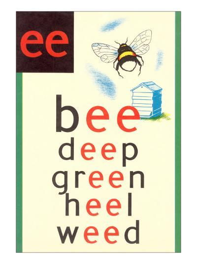 EE in Bee--Art Print