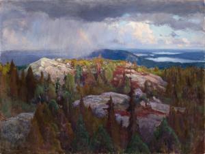 Landscape (Maisema Kolilta). 1918 by Eero Jarnefelt
