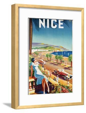 Nice, Ca, 1930 by Eff d'Hey