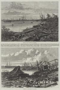 Effects of the Cyclone at Calcutta