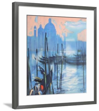 Effet de lumière à Venise I-Jean-Baptiste Valadie-Framed Premium Edition