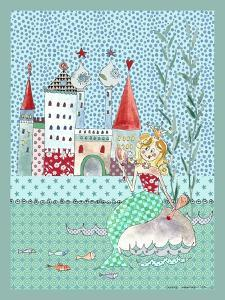Little Mermaid Print A by Effie Zafiropoulou