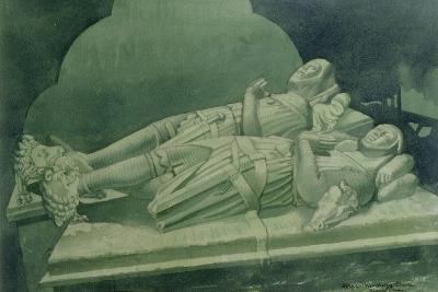 Effigies, Winchelsea Church-Osmund Caine-Giclee Print