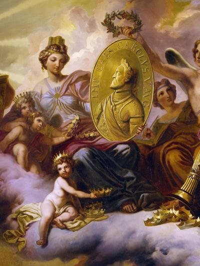 Effigy of Charles V Being Carried in Triumph--Giclee Print