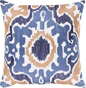 Effulgence 18 x 18 Pillow Cover - Denim