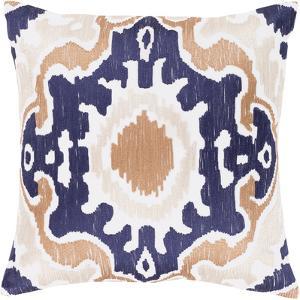 Effulgence 18 x 18 Pillow Cover - Navy/Beige