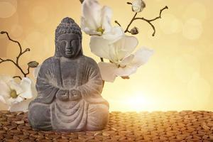 Buddha in Meditation, Religious Concept by egal