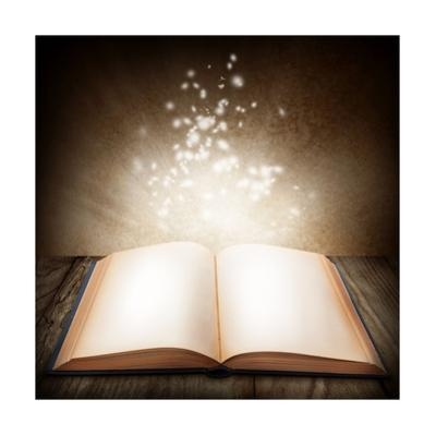 Open Magic Book by egal