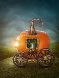 Pumpkin Carriage by egal