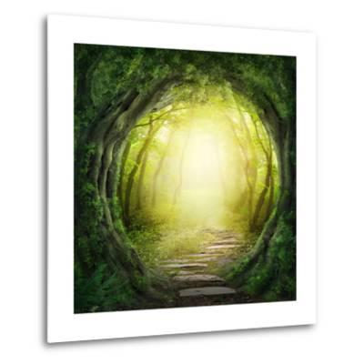 Road In Dark Forest