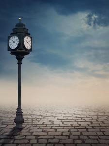 Vintage Outdoor Street Clock Outdoor by egal