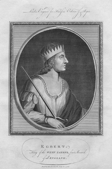 Egbert, King of Wessex, 1786--Giclee Print