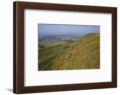 Eggardon Hill, Dorset, England, 20th century-CM Dixon-Framed Photographic Print