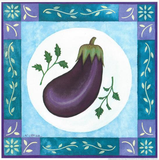 Eggplant-Urpina-Art Print